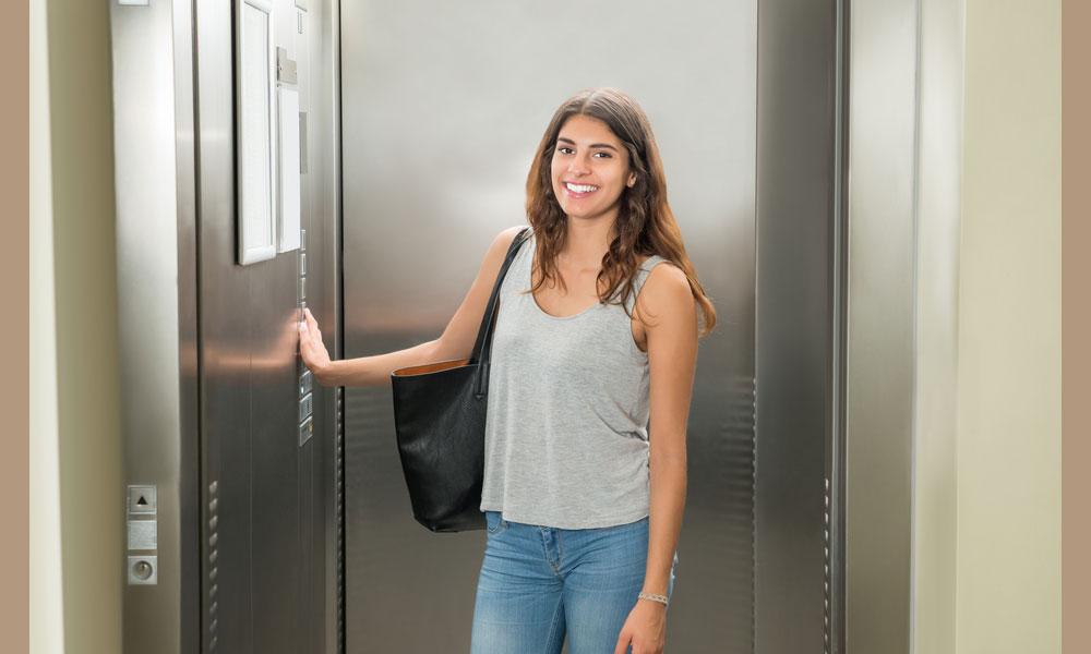 mini ascenseur ascenseur privatif pratique et tendance. Black Bedroom Furniture Sets. Home Design Ideas